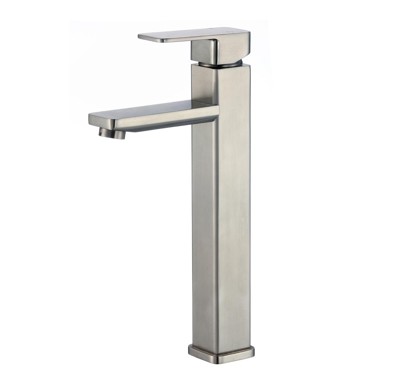 Montreuil Single Handle Deck Mounted Bathroom Sink Faucet