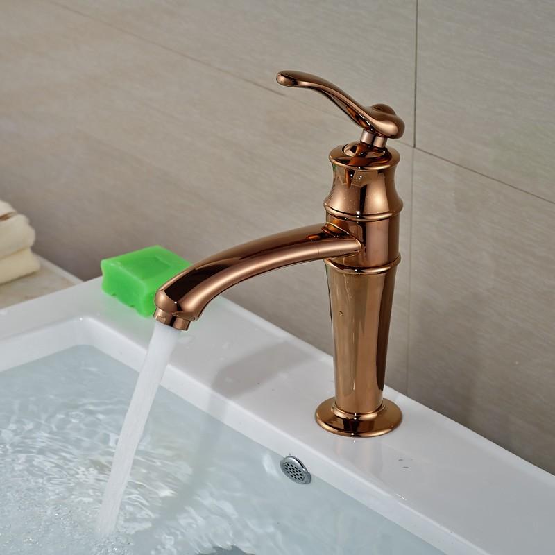 Montreuil Single Handle Bathroom Sink Faucet