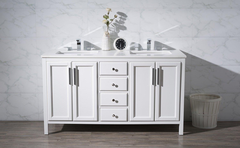 Naples Double Sink Bathroom Vanity Set