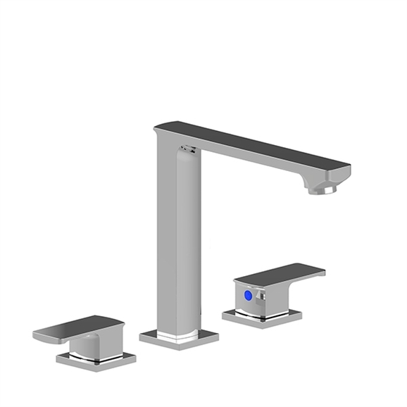 Shop Naples Dual Handle Solid Brass Bathroom Sink Faucet At Bathselect