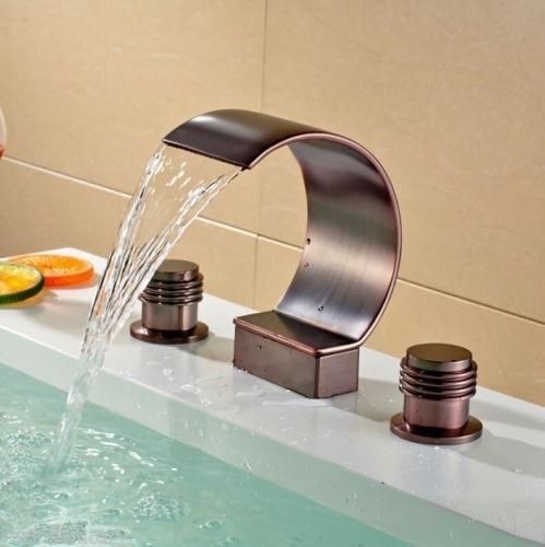 Oil Rubbed Bronze Widespread Bathtub Mixer BTE-E59