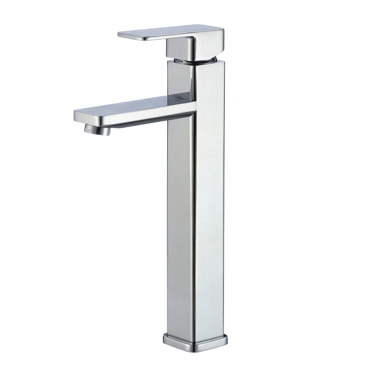Orleans Single Handle Deck Mounted Bathroom Sink Faucet