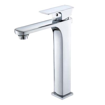 Pescara Single Handle Deck Mounted Bathroom Sink Faucet