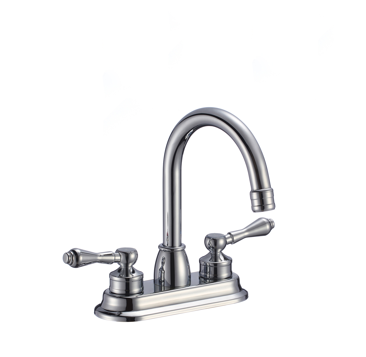 Shop Rennes Dual Handle Solid Brass Bathroom Sink Faucet At Bathselect