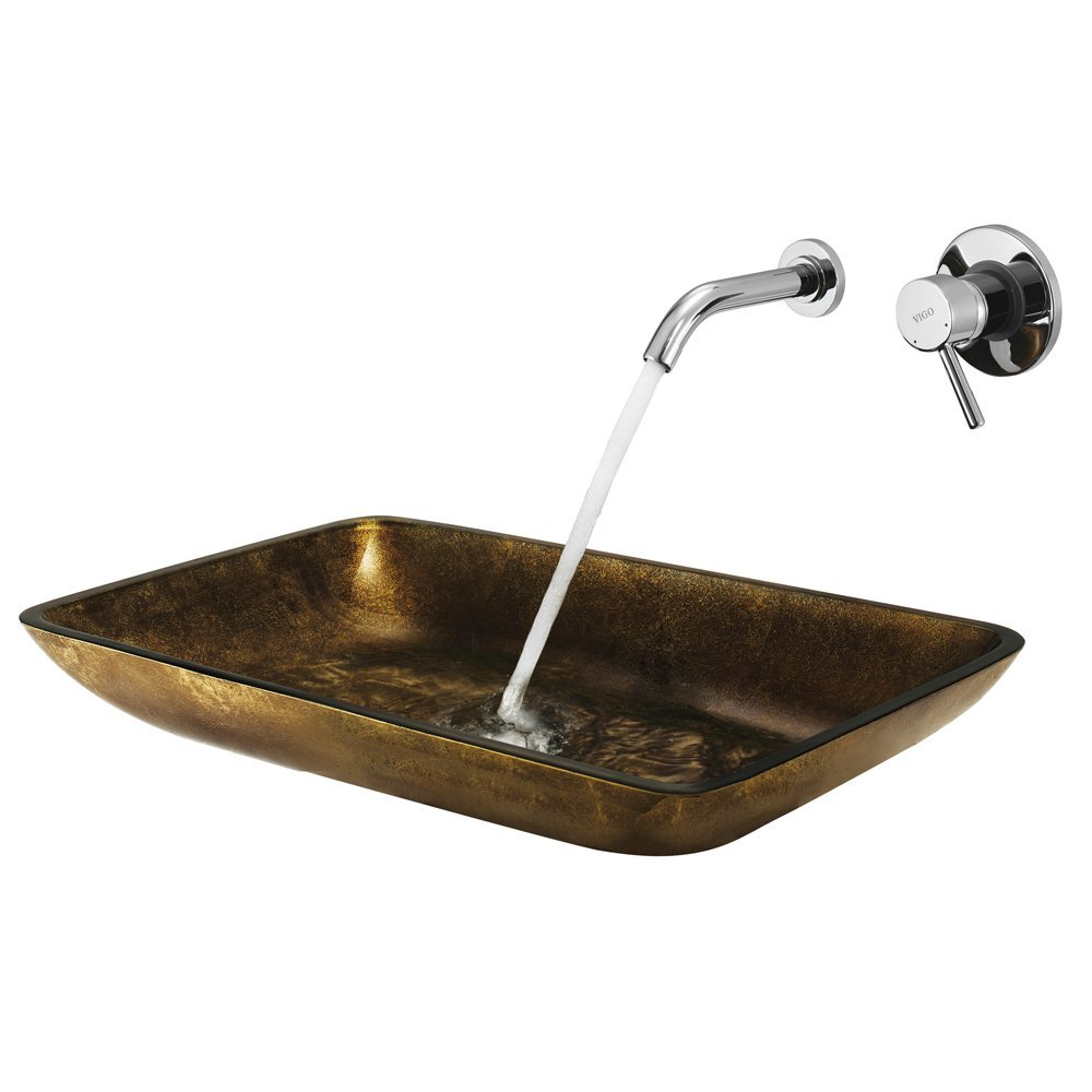 Buy Roman Rectangular Glass Vessel Sink Online. Bathselect Accessories