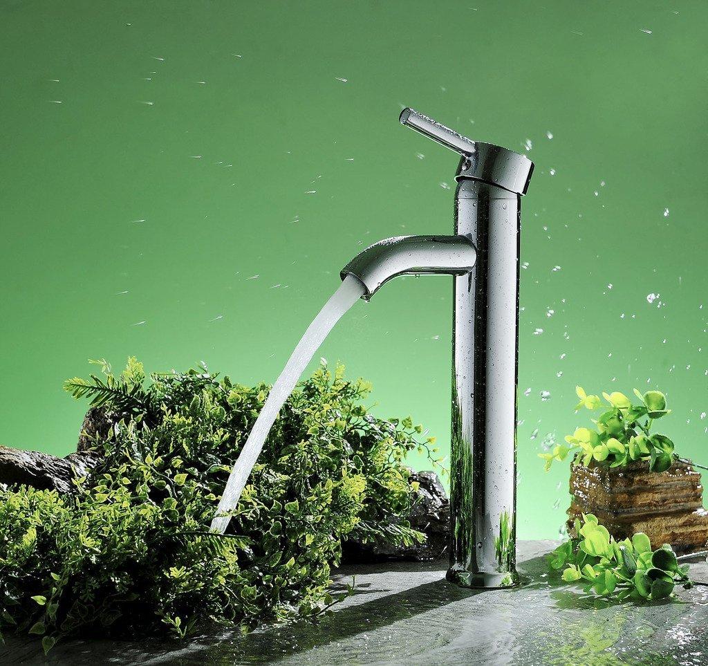 Roman Single Handle Bathroom Sink Faucet
