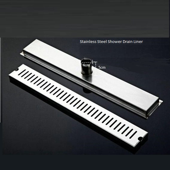 Stainless Steel Shower Floor Linear Drain
