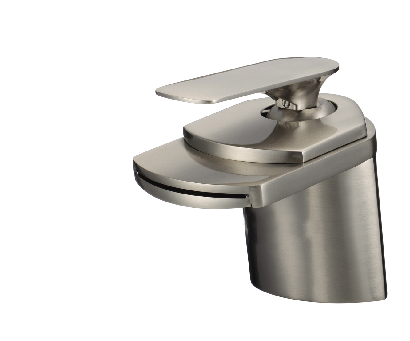 Taranto Single Handle Deck Mounted Bathroom Sink Faucet
