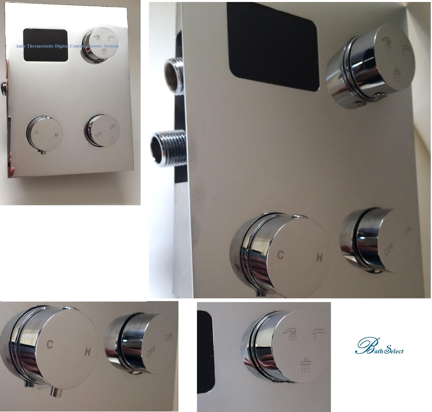 Digital shower temperature control - Digital Display Shower Mixer