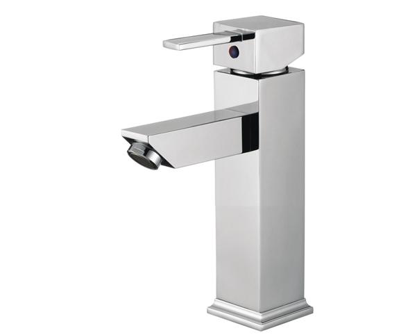 Verona Single Handle Deck Mount Bathroom Sink Faucet