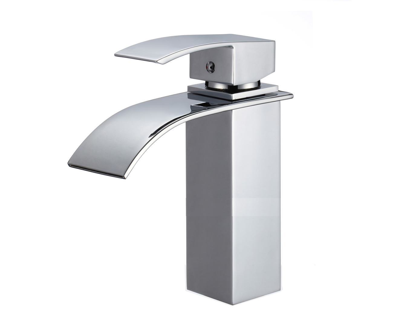 Shop Versailles Single Handle Deck Mounted Bathroom Sink Faucet At ...