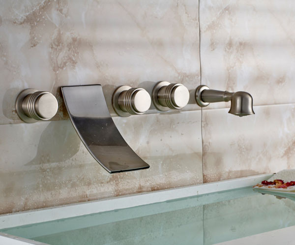Exposed Bath U0026 Shower Faucet Feature: Without Slide Bar Surface Treatment:  Brushed Type: Fixed Support Type