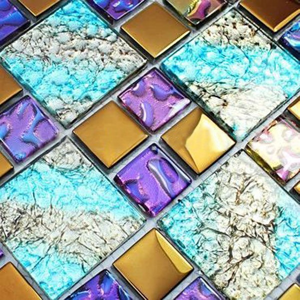 Off Mosaic Tiles For Colorful Decor In