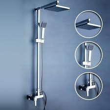 Gold Tone Finish Napoli Shower Set -