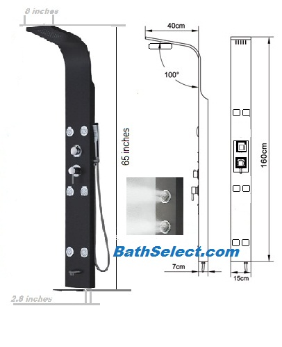 Features of Shower Panels