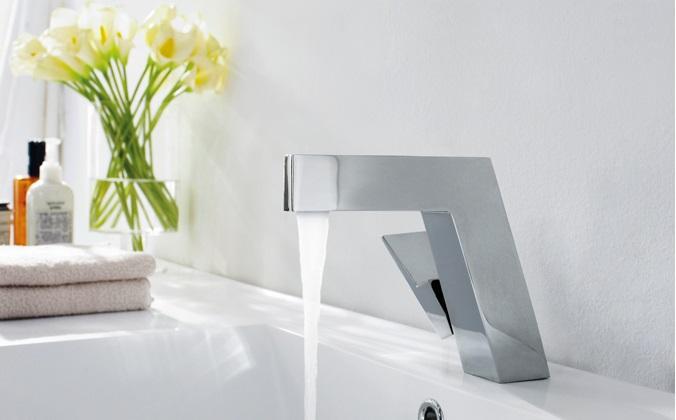 Bravat Chrome Polished Finish Bathroom Basin Mixer Tap