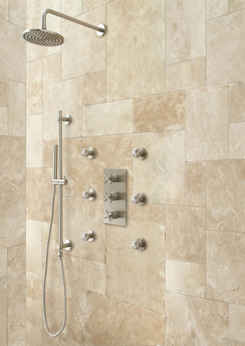 Brushed Nickel Velaro Shower Set Installation Instructions