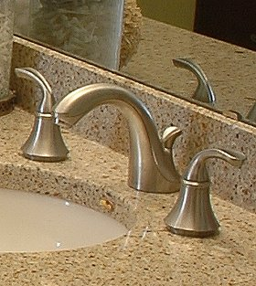 Captivating Brushed Chrome Bathroom Faucets Inspiration Of - Gold and chrome bathroom faucets
