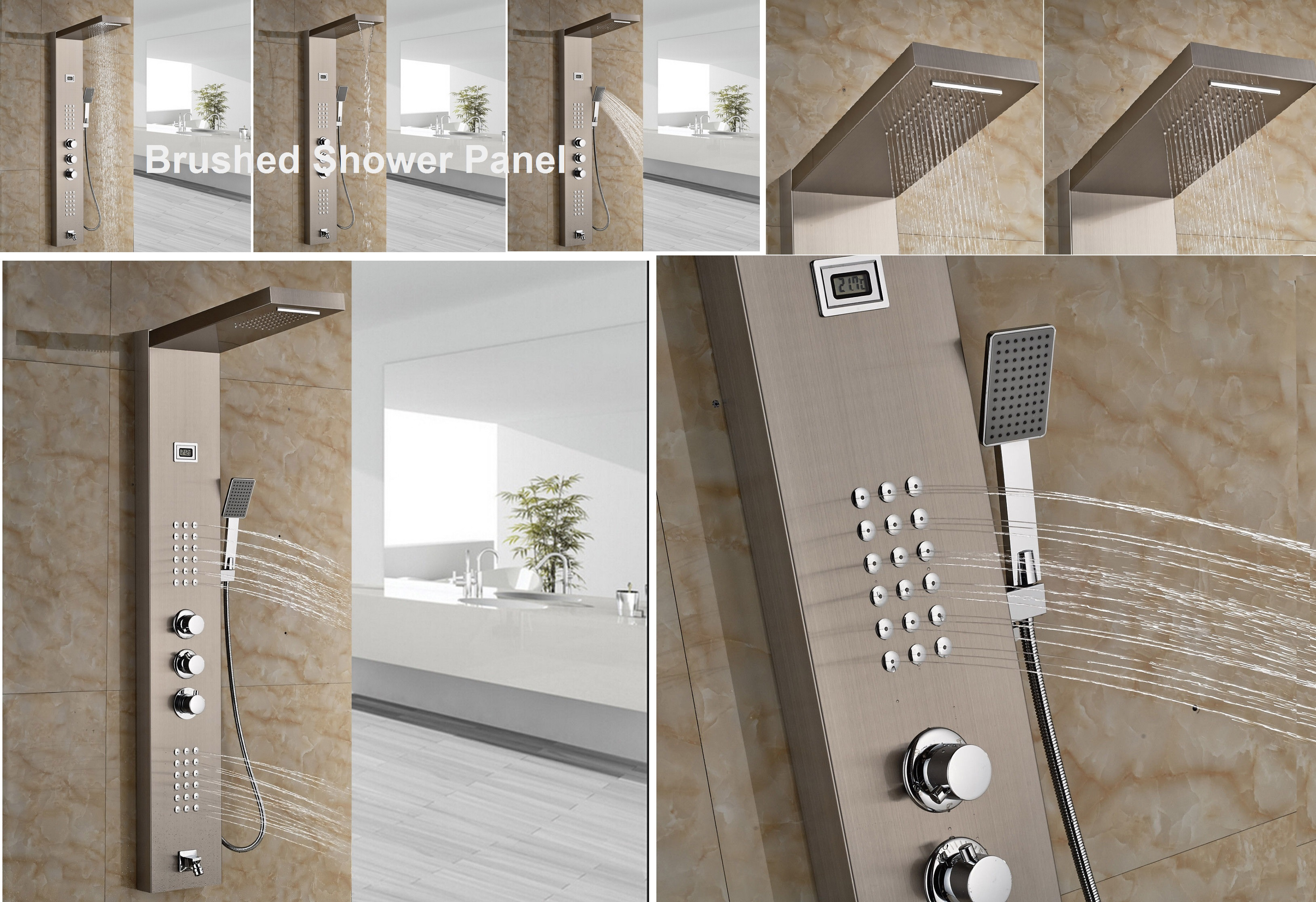 Installation Instructions Of Wall Mount Bathroom Shower