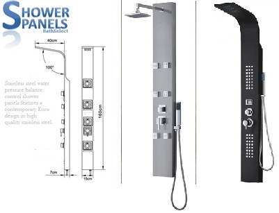 Beautiful ... Wall Attached Brackets. Altu003d · Shower Panels