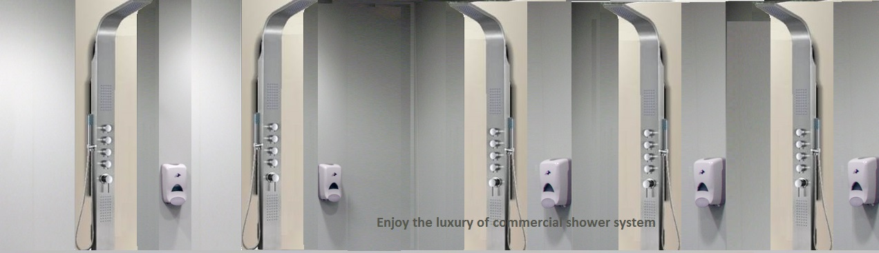 Commercial Use Bathroom Showers Bathselect Blog - Commercial bathroom enclosures