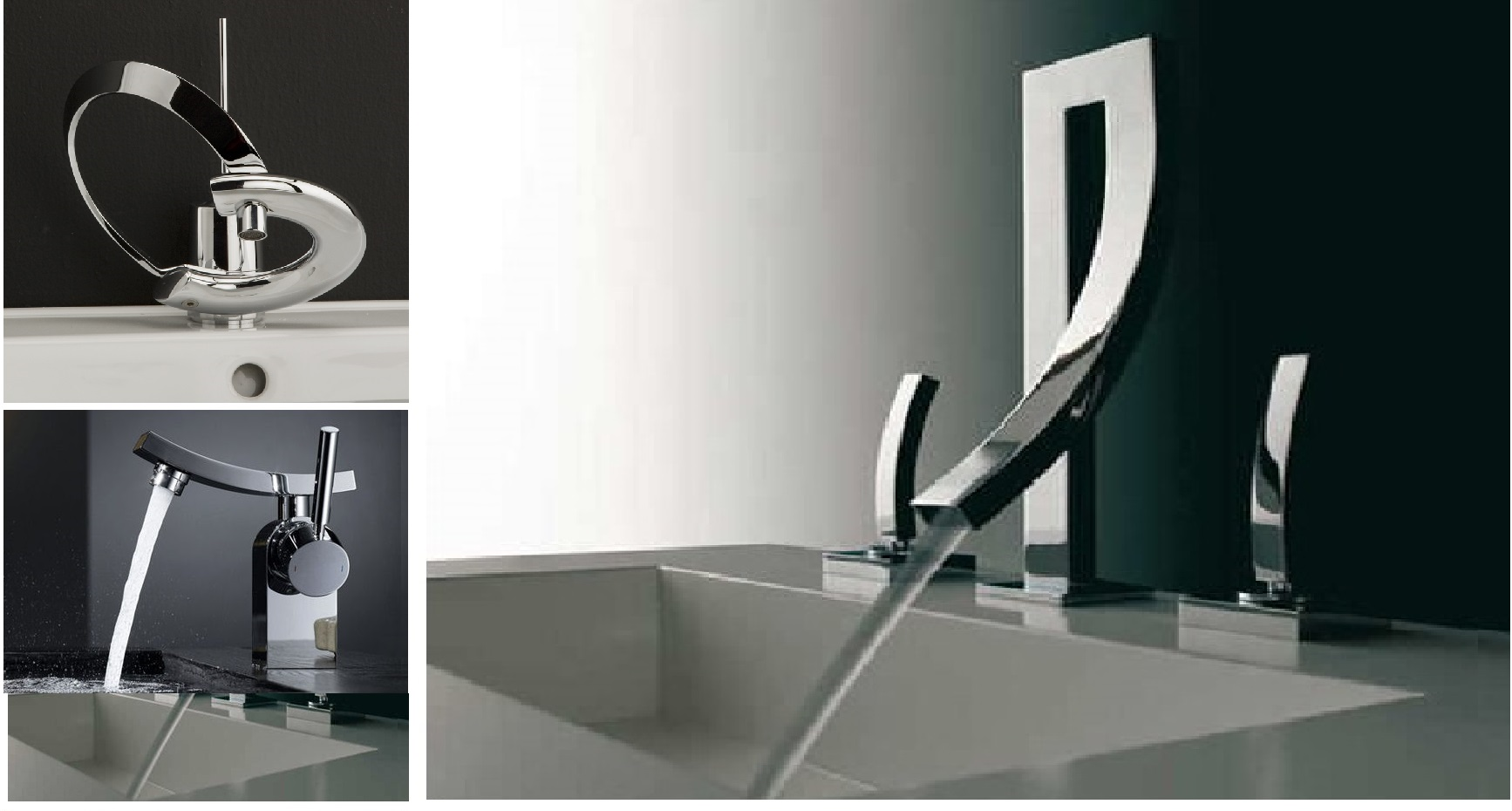 Fontana Contemporary Faucets Bathroom Sink