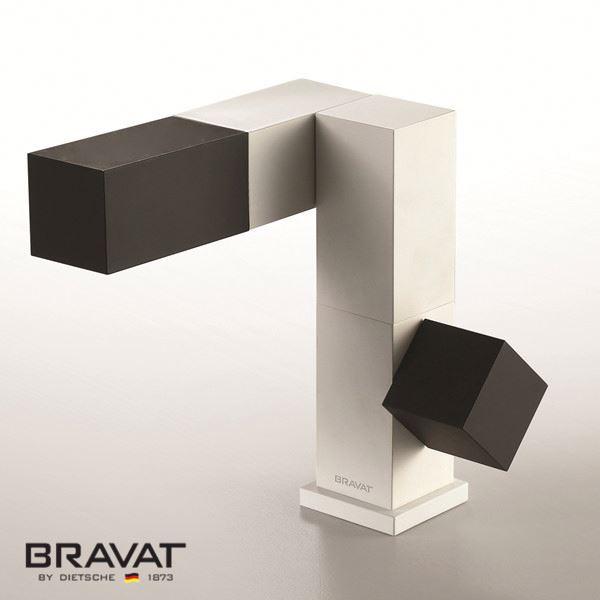 Bravat contemporary single lever sink mixer contemp design