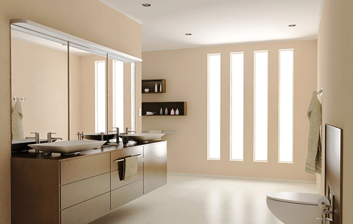 Contemporary Tempered Glass Vanities