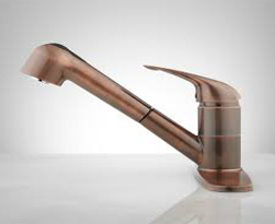 Copper Metallic Finish Motion Sensor Faucets