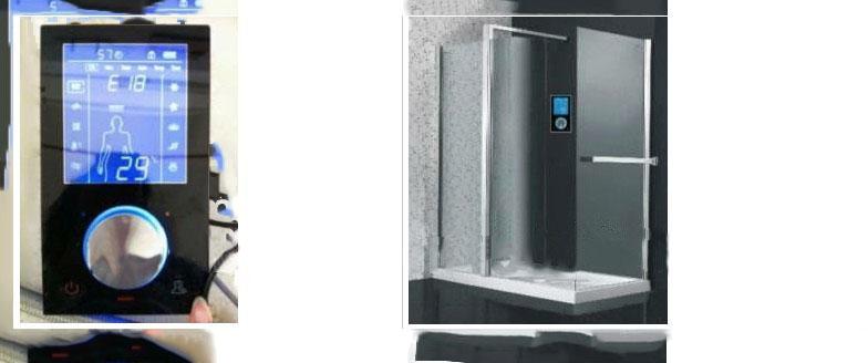Digital Shower Control System Shower Mixerr ...