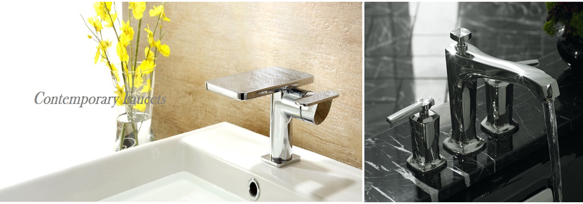 Fontana Contemporary Faucets