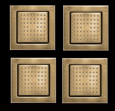 Gold Body Spray Set - Set of 4