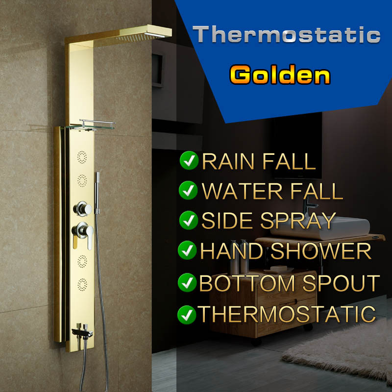 golden-stainless-steel-rainfall-shower-panel