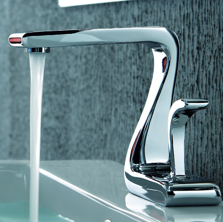 Shop Grhe Crane Bathroom Water Faucet Basin Mixer Sink Faucet At ...