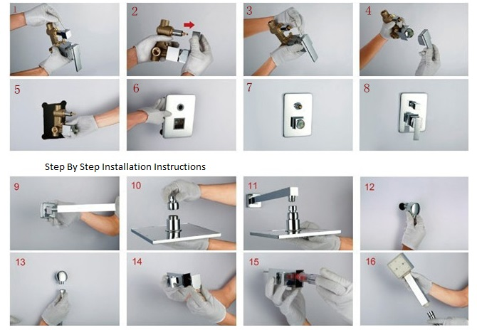 Complete Installation Guide For Shower Sets Amp Heads