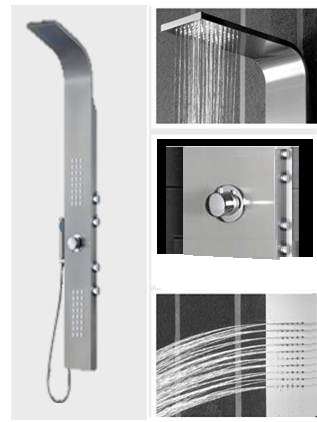 Buy Fontana Giulia Shower Panel S915 Online. Bathselect Accessories