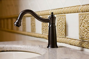 bathroom-oil-rubbed-bronze-motion-sensor-automatic-faucet
