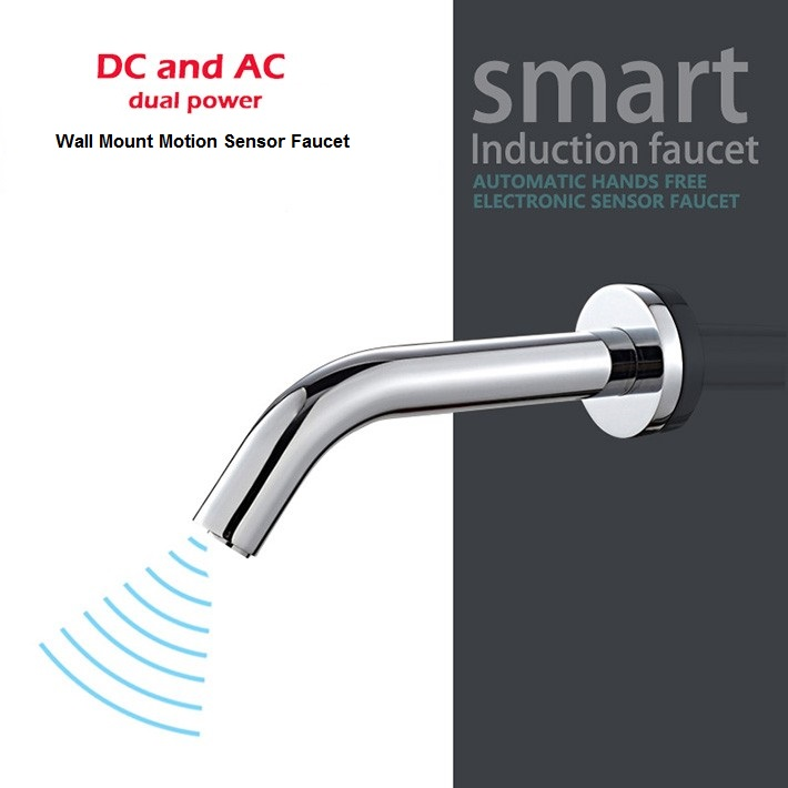 Revolutionary Wall Mount Sensor Faucet For Your Bathroom