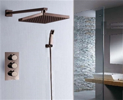 Oil Rubbed Bronze Finish Showers