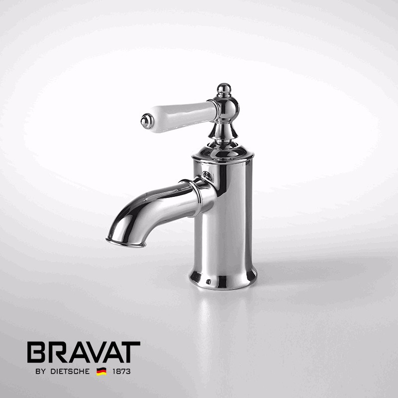 Bavaria Sink Faucet Curved Solid Brass Faucet