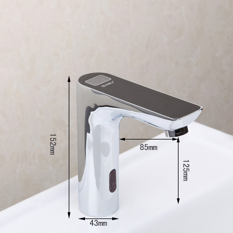 Shop Digital Display Automatic Motion Touch Free Sensor Faucet At ...