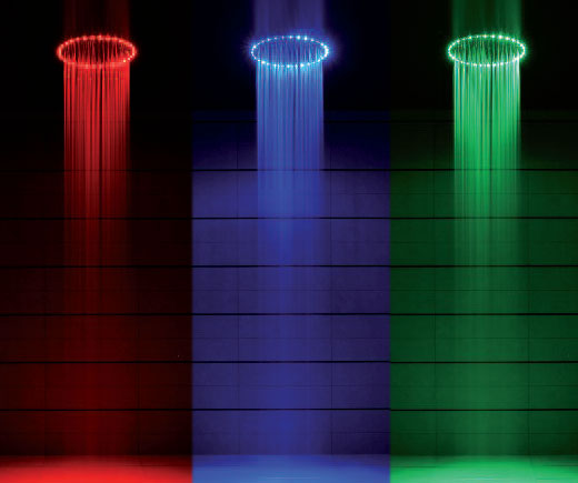 led showers