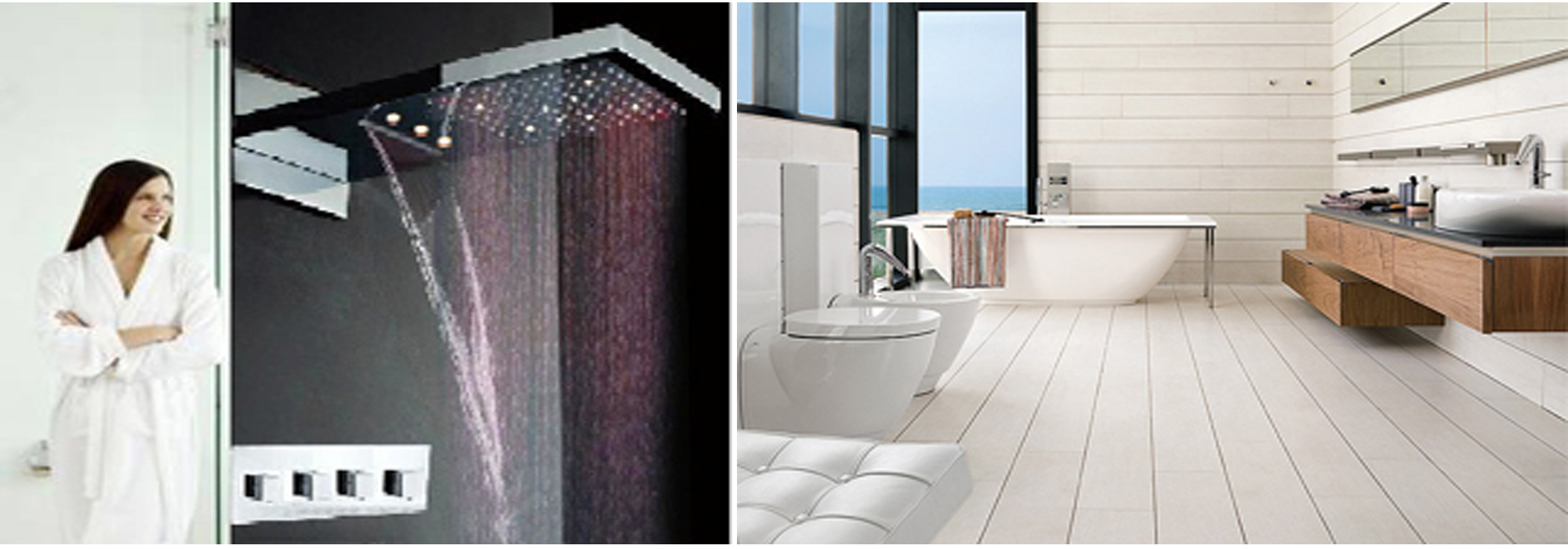 Multi Color Showers Bath Select