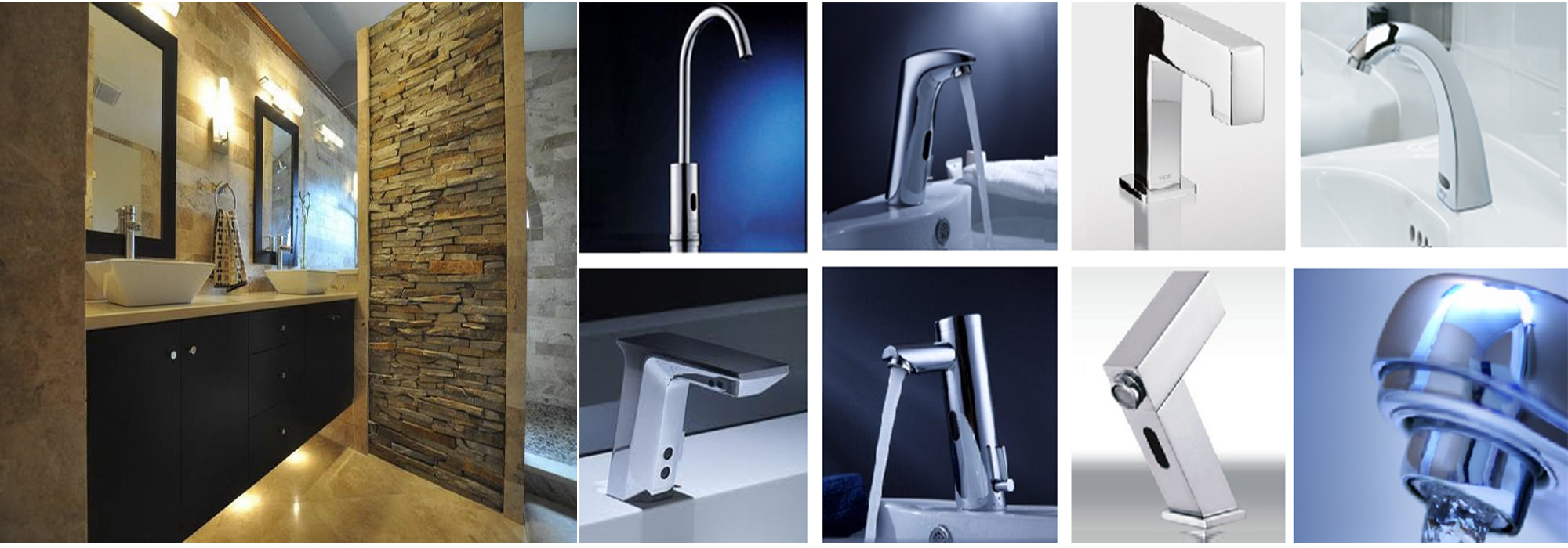 Automatic Motion Sensor Faucets Hands Free