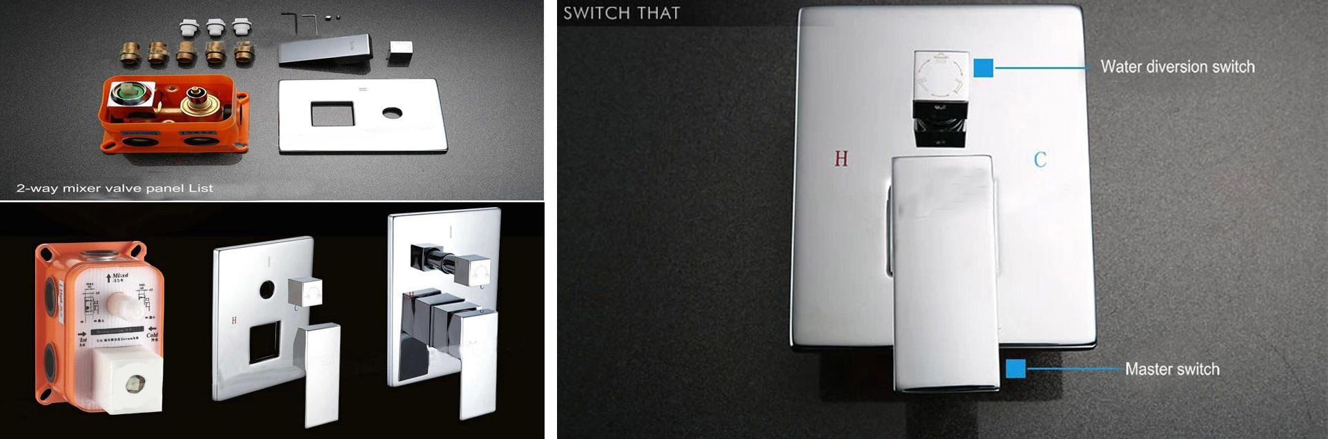 Installation Instructions 2 Way Shower Mixer - Bathselect Blog