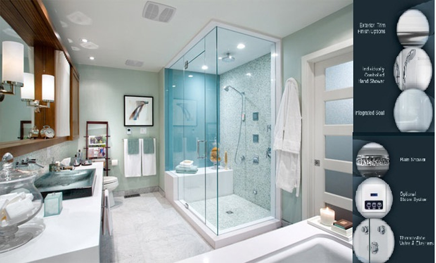 Steam Showers | Residential Steam Showers | Steam Shower Units