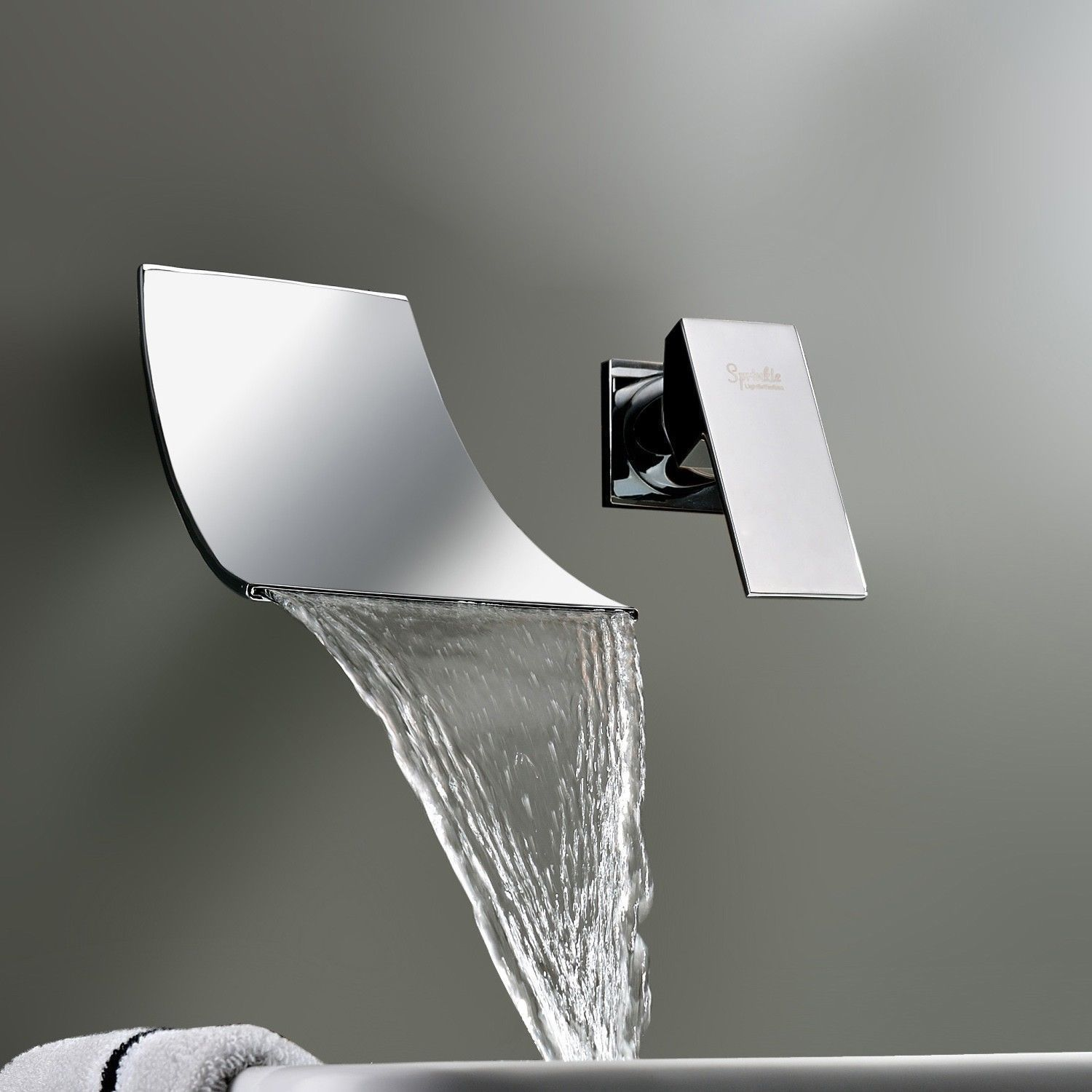 bathtub designer waterfall two mixer bathroom or widespread tub faucet faucets sink rozin handles taps dp bath chrome
