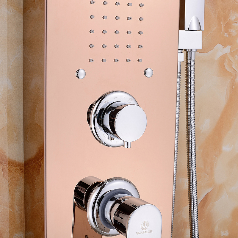 wangel-thermostatic-champagne-gold-shower-set