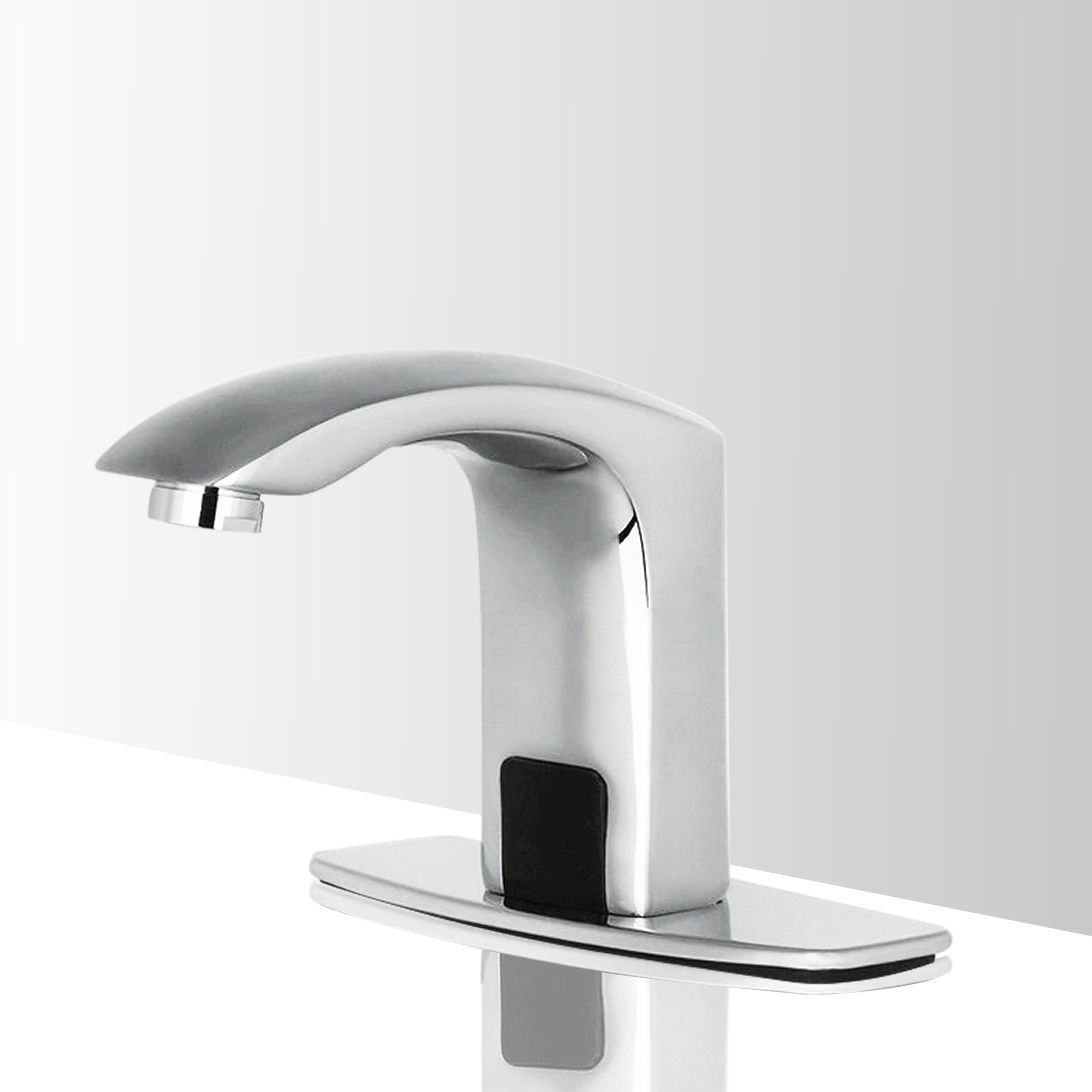 Hands Free Automatic Sensor Thermostatic Bathroom Faucet Commercial