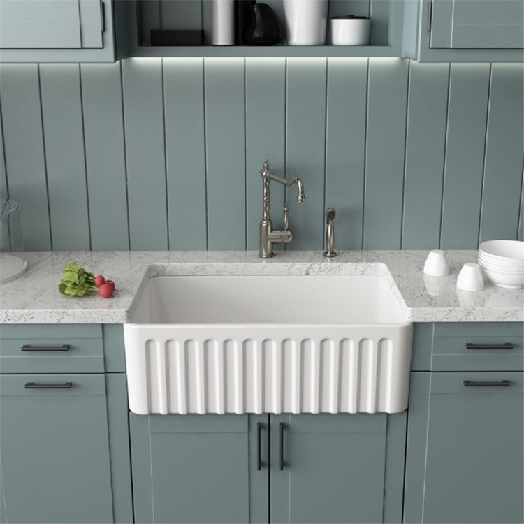 One Week Sale On Melun High Quality White Acrylic Kitchen Sink
